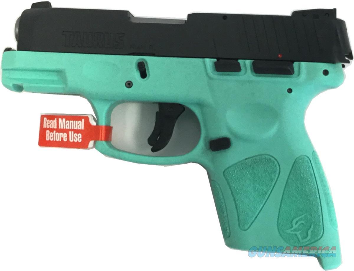 Taurus G2S 1-G2S931C / Cyan Handgun 9 MM  Guns > Pistols > TU Misc Pistols