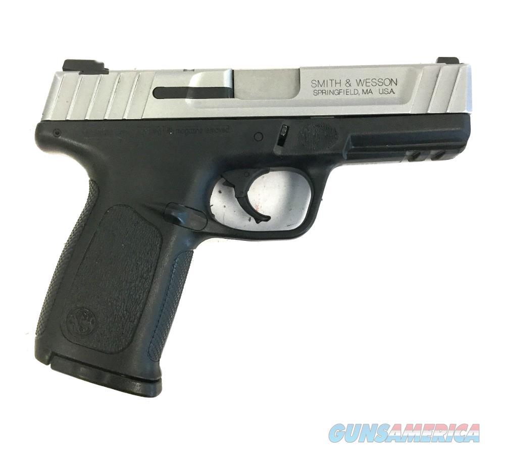 S & W SD40 VE Handgun .40 S&W  Guns > Pistols > S Misc Pistols