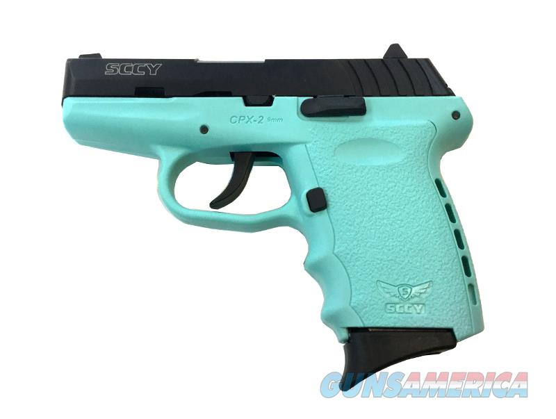 SCCY CPX2 CBSB SCCY Blue    Guns > Pistols > S Misc Pistols