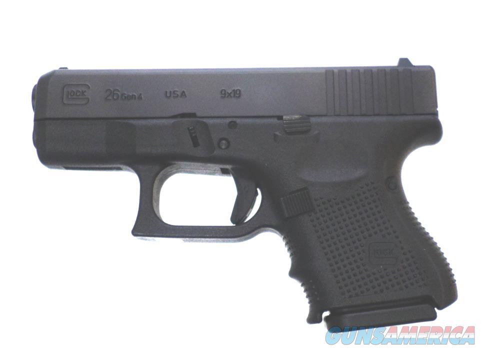 Glock 26 Gen 4 - UG2650201 Handgun 9 MM  Guns > Pistols > G Misc Pistols