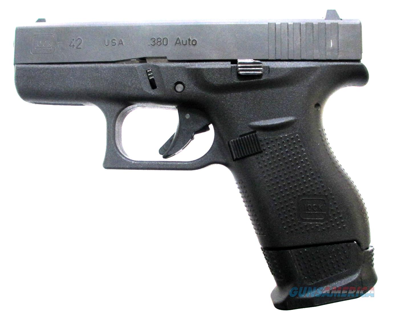 Glock G42 - UI42502-01 Handgun .380 ACP  Guns > Pistols > G Misc Pistols