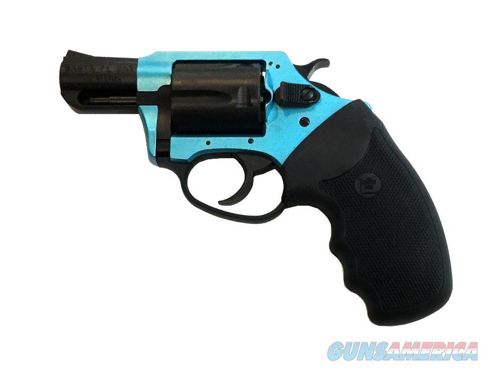 Charter Arms Santa Fe Sky 53864 Angel Blue Handgun .38 Special  Guns > Pistols > C Misc Pistols