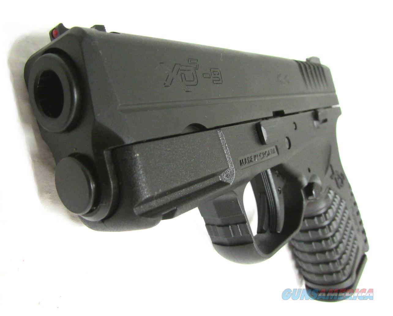 Springfield Armory XDS-9 - XDS9339BE Handgun 9 MM  Guns > Pistols > S Misc Pistols