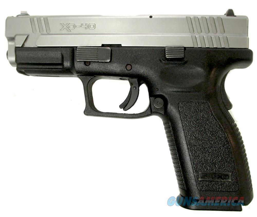 Springfield Armory XD-40 Handgun .40 S&W  Guns > Pistols > S Misc Pistols