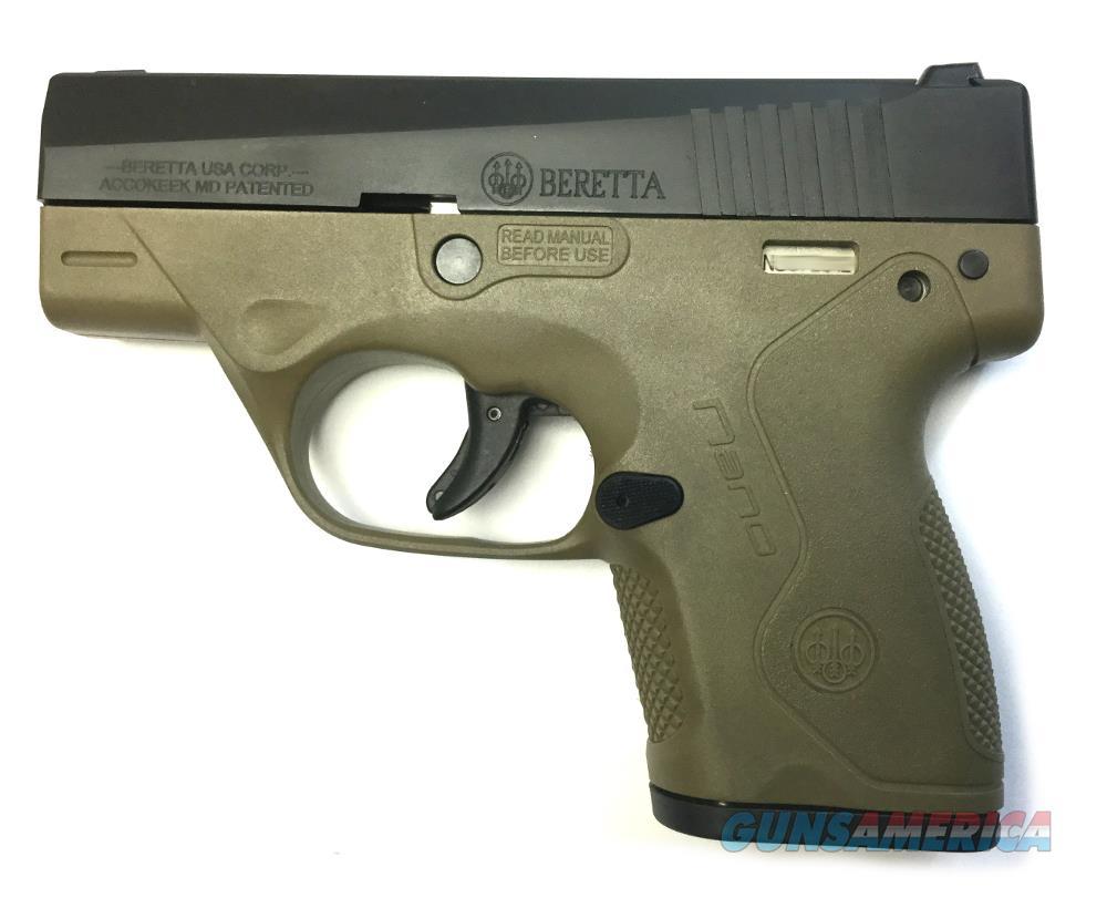 Beretta BU9 Nano Handgun 9 MM  Guns > Pistols > B Misc Pistols