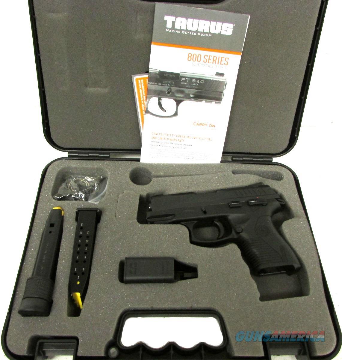 Taurus PT809 C Handgun 9 MM  Guns > Pistols > TU Misc Pistols