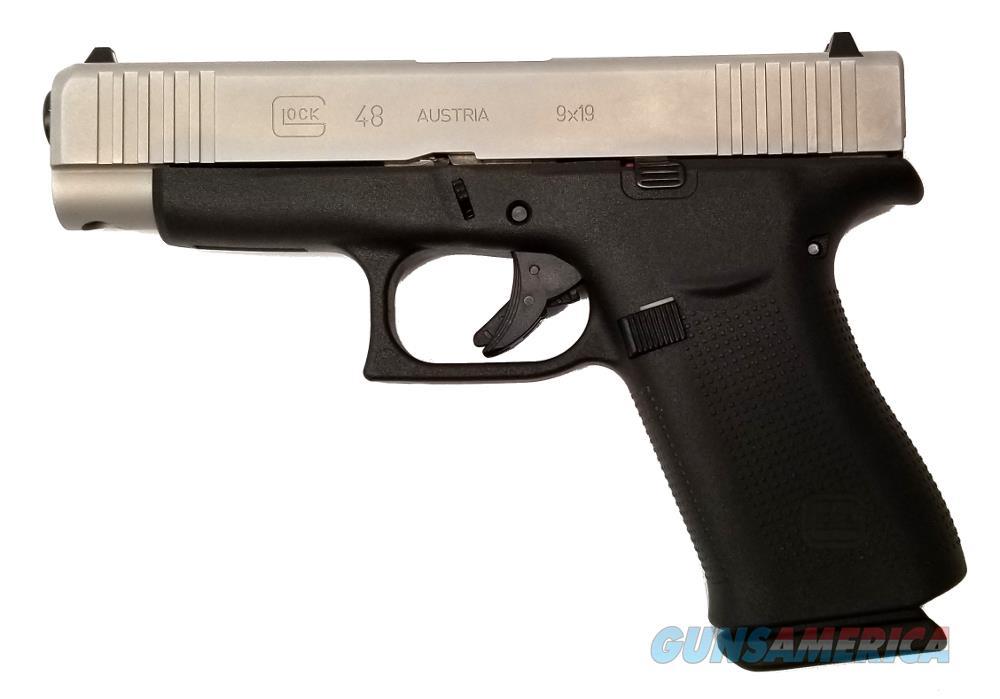 Glock G48 - PA485SL201 Handgun 9 MM  Guns > Pistols > G Misc Pistols