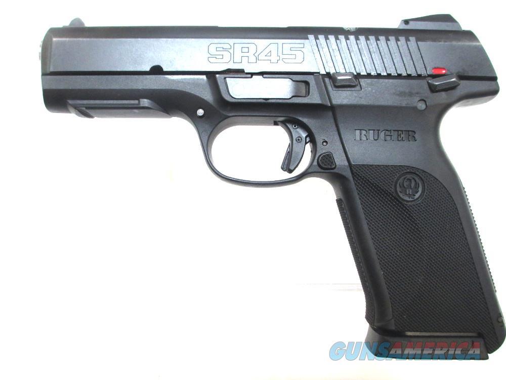Ruger SR45 - .45 ACP Handgun .45 Auto  Guns > Pistols > R Misc Pistols