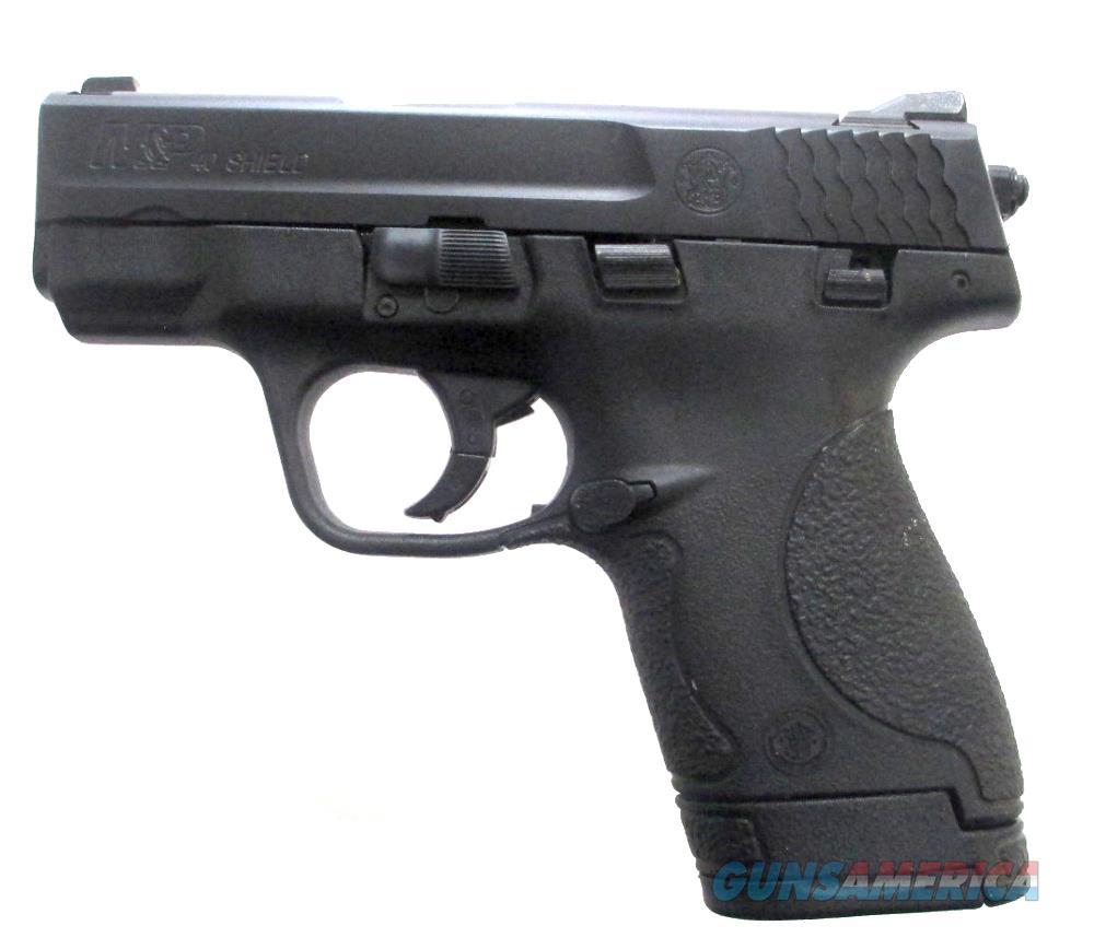 S & W M&P 40 Shield Handgun .40 S&W  Guns > Pistols > S Misc Pistols
