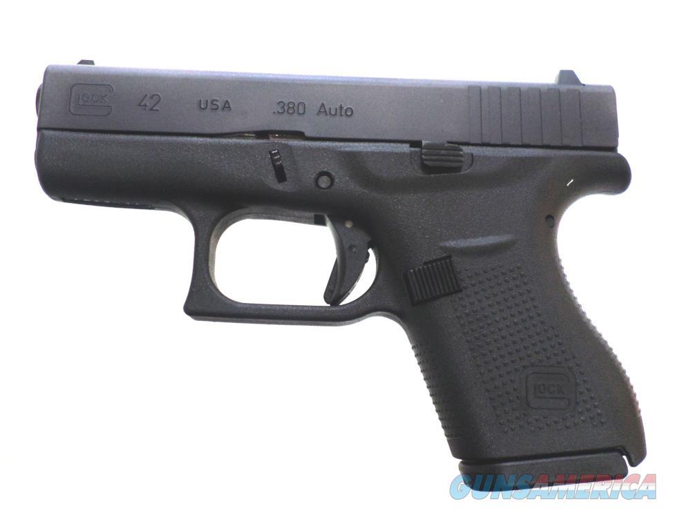 Glock 42 - UI42502-01 Handgun .380 ACP  Guns > Pistols > G Misc Pistols