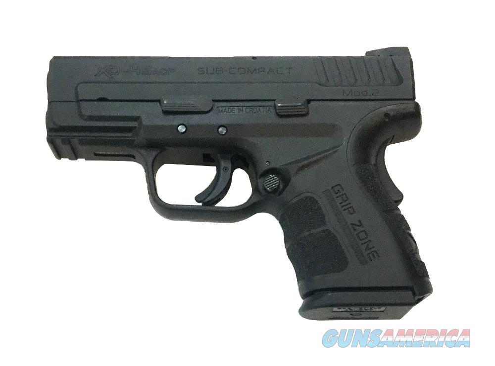 Springfield Armory XD-45 Mod 2 Handgun .45 Auto  Guns > Pistols > S Misc Pistols