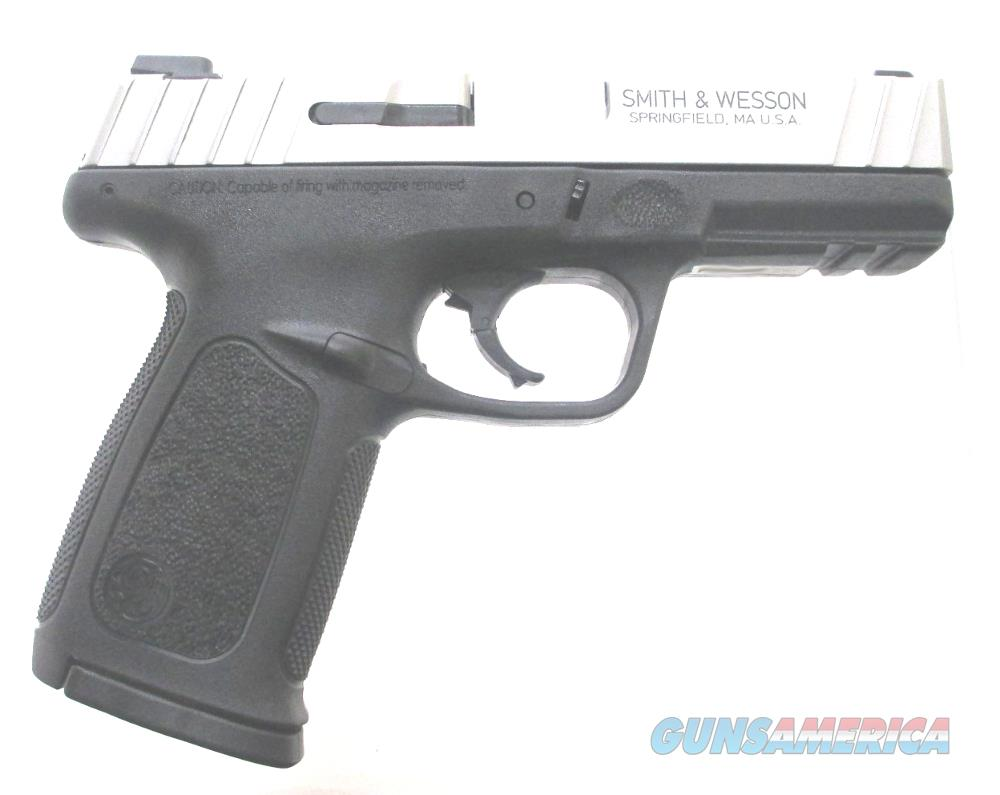 S & W SD9VE - 223900 Handgun 9 MM  Guns > Pistols > S Misc Pistols