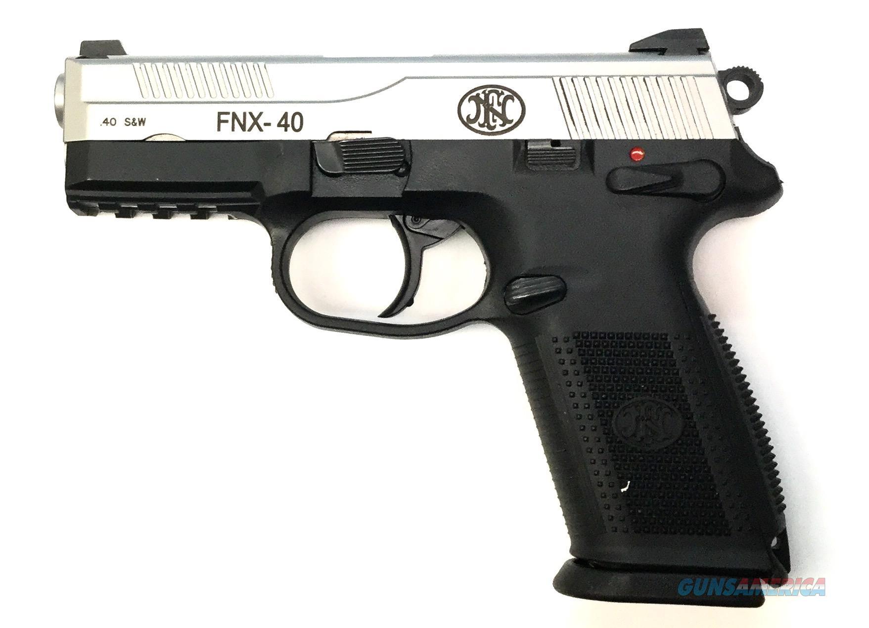 FN FNX-40 Handgun .40 S&W  Guns > Pistols > F Misc Pistols