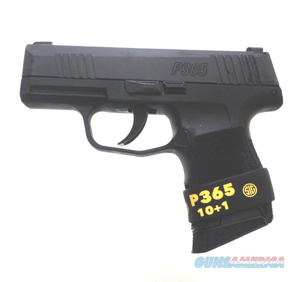 Sig Sauer P365 - 365-9-BXR3-1M Handgun 9 MM  Guns > Pistols > S Misc Pistols