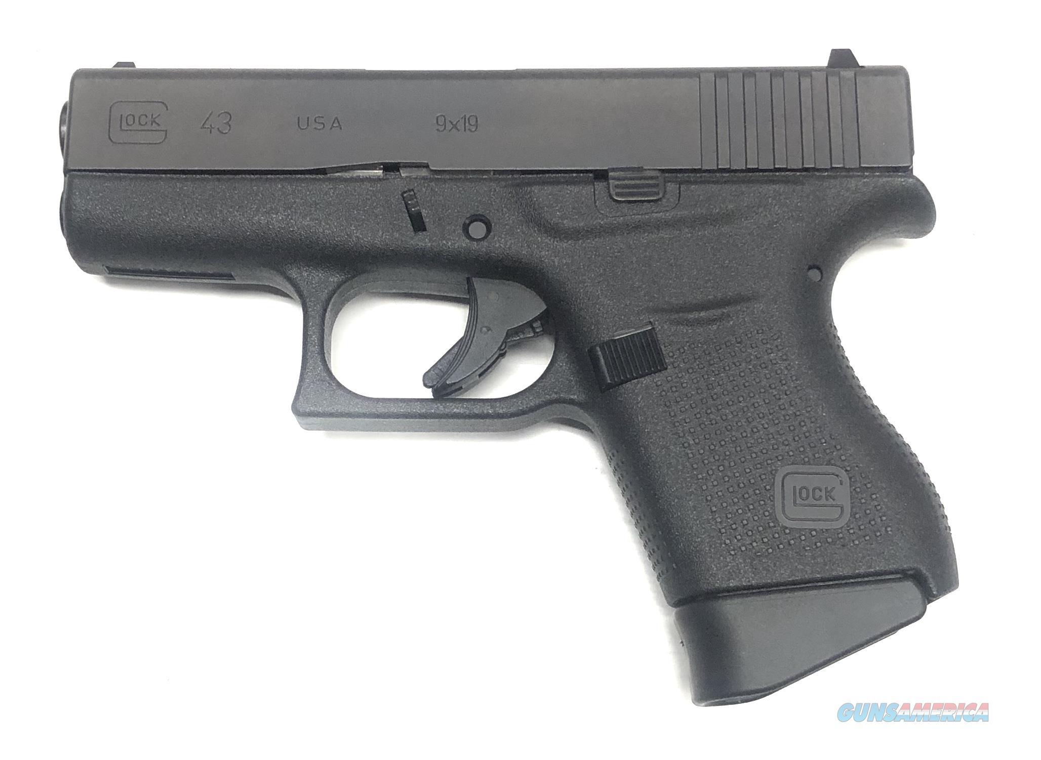Glock 43 - UI43502-01 Handgun 9 MM  Guns > Pistols > G Misc Pistols