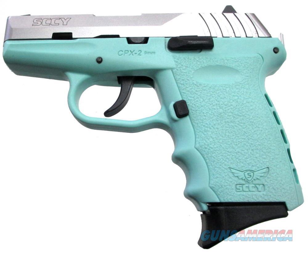 SCCY CPX-2 - 9mm Handgun 9 MM  Guns > Pistols > S Misc Pistols