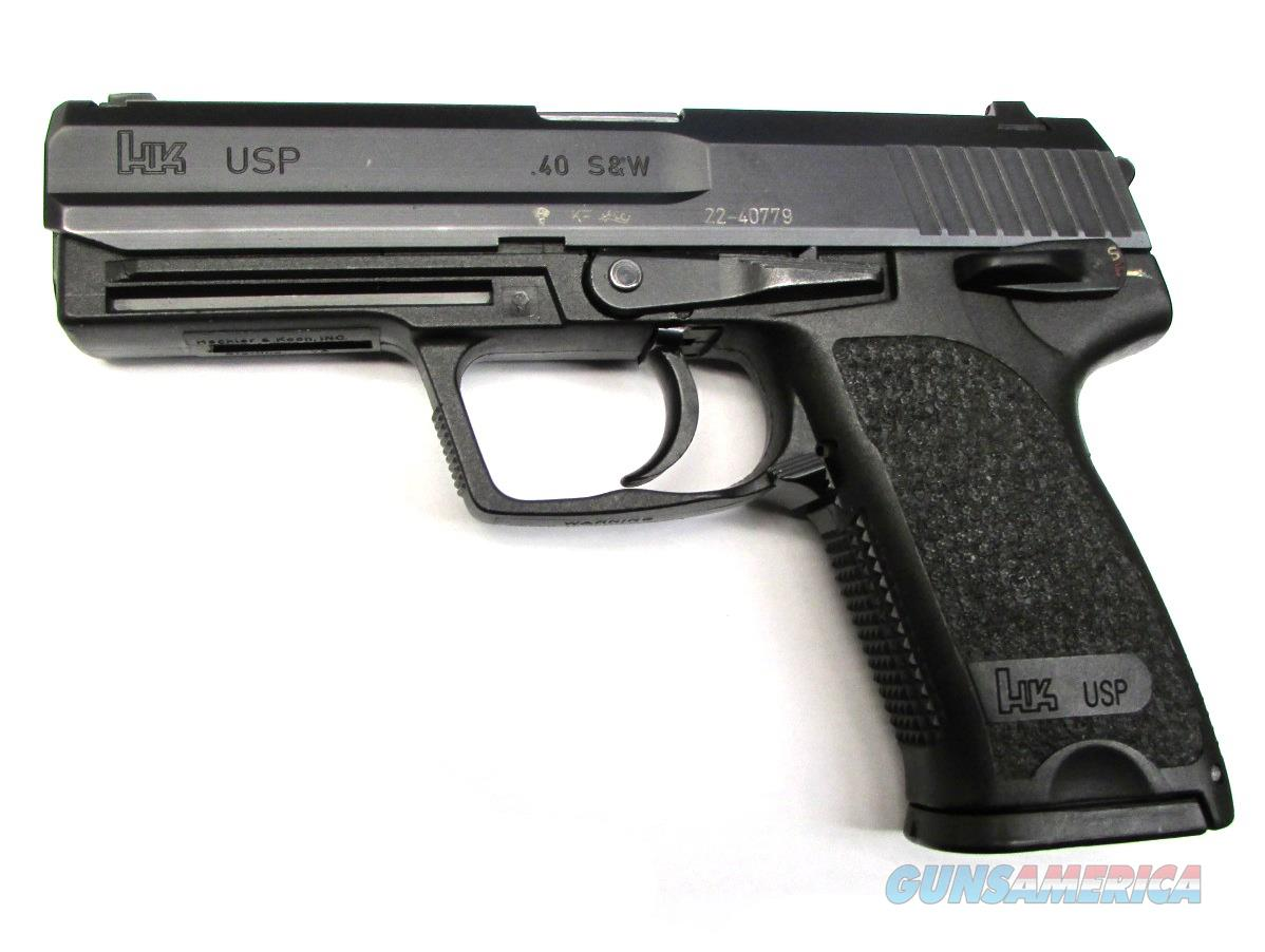 H & K Usp Handgun .40 S&W  Guns > Pistols > H Misc Pistols
