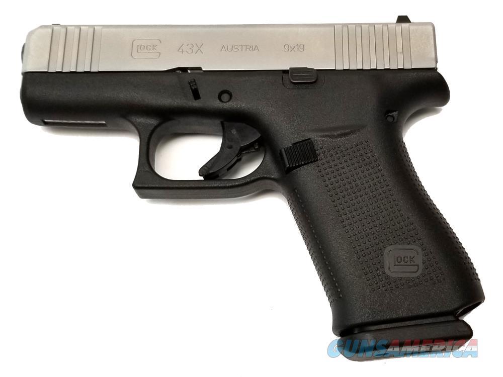 Glock G43X - PX435SL201 Handgun 9 MM  Guns > Pistols > G Misc Pistols