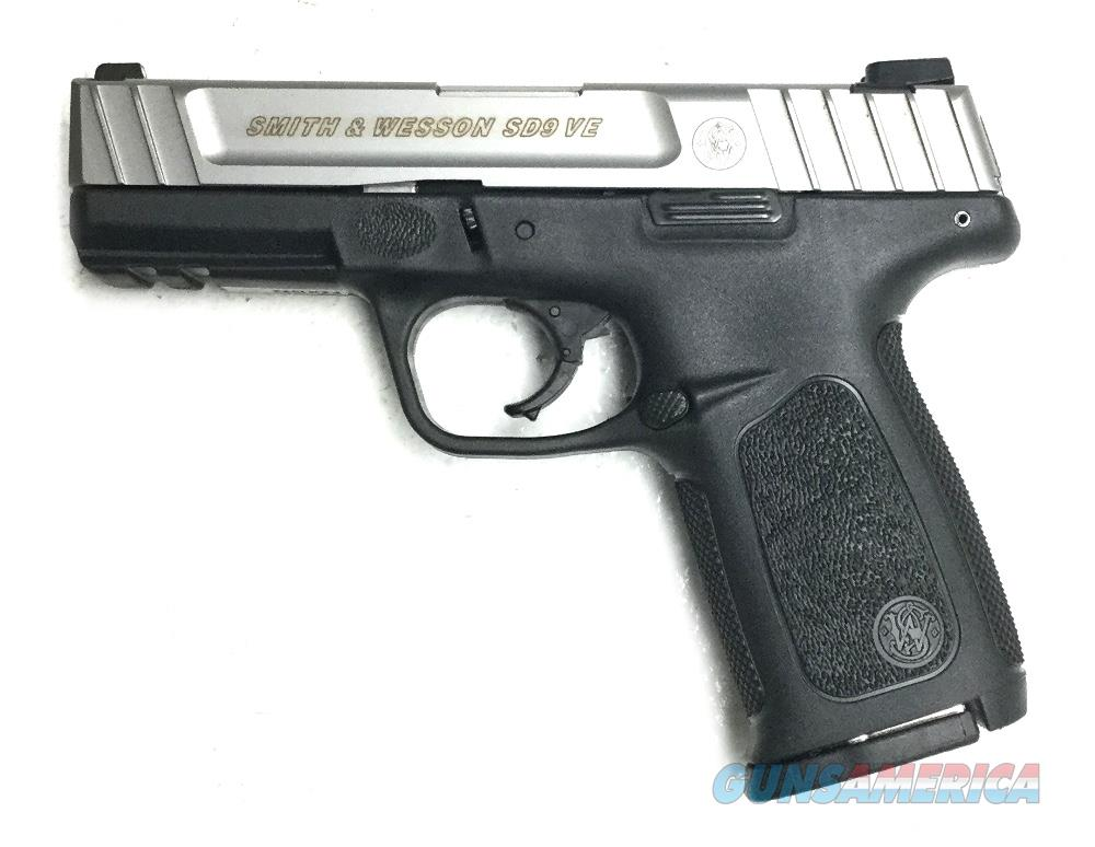 S & W SD9VE Handgun 9 MM  Guns > Pistols > S Misc Pistols