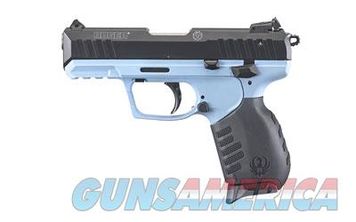 RUGER SR22 W/EXCLUSIVE CAROLINA BLUE FINISH #3631 - 2 TEN RD MAGS & ADJ SIGHTS - GREAT SHOOTER - FREE PRIORITY SHIPPING - TXPAT ARMORY LLC  Guns > Pistols > Ruger Semi-Auto Pistols > SR Family > SR22