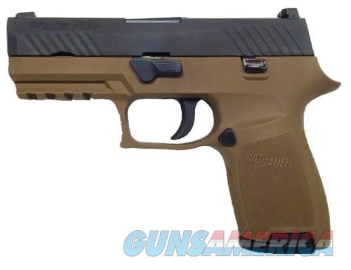 SIG P320 COMPACT NITRON/FDE FINISH  9MM - IN STOCK - TWO 15 RD MAGS - FREE PRIORITY SHIPPING - TXPAT ARMORY LLC  Guns > Pistols > Sig - Sauer/Sigarms Pistols > P320