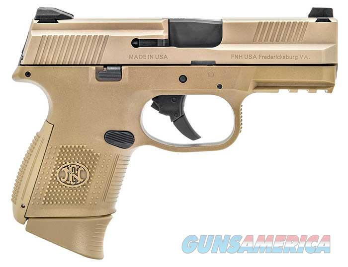 FN FNS-9C - FDE BEAUTY - 12/17 RD MAGS - NEW IN CASE WITH FN BOX - FREE SHIPPING - TXPAT ARMORY LLC  Guns > Pistols > FNH - Fabrique Nationale (FN) Pistols > FNS