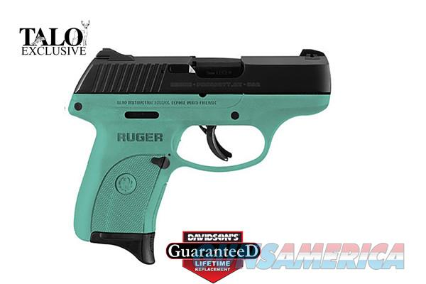 RUGER LC9S robin's egg blue DAVIDSON'S EXCLUSIVE - FREE SHIPPING - LIFETIME GUARANTEE - TXPAT ARMORY LLC  Guns > Pistols > Ruger Semi-Auto Pistols > LC9
