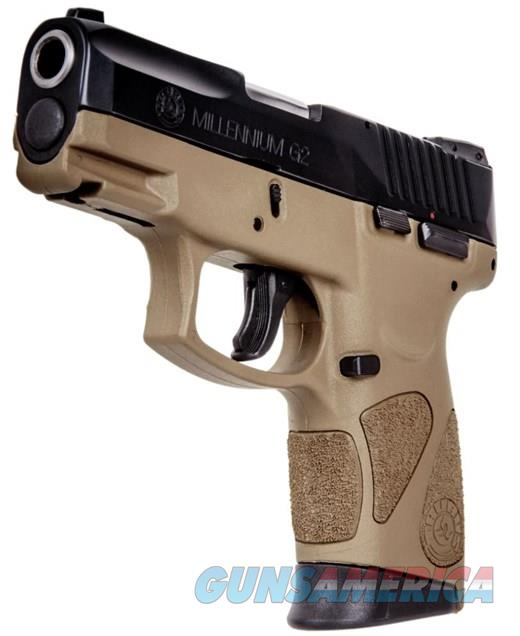 TAURUS PT111 G2 MILLENIUM - FDE FRAME BEAUTY - TWO 12 RD MAGS - 9MM CCW - FREE PRIORITY SHIPPING - TXPAT ARMORY LLC  Guns > Pistols > Taurus Pistols/Revolvers > Pistols > Polymer Frame