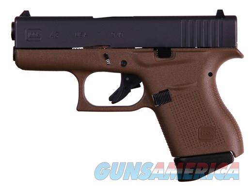 GLOCK 43 - FACTORY FDE FRAME - 9MM CCW - NEW IN BOX - FREE PRIORITY SHIPPING! - HURRY THIS ONE'S A BEAUTY  Guns > Pistols > Glock Pistols > 43