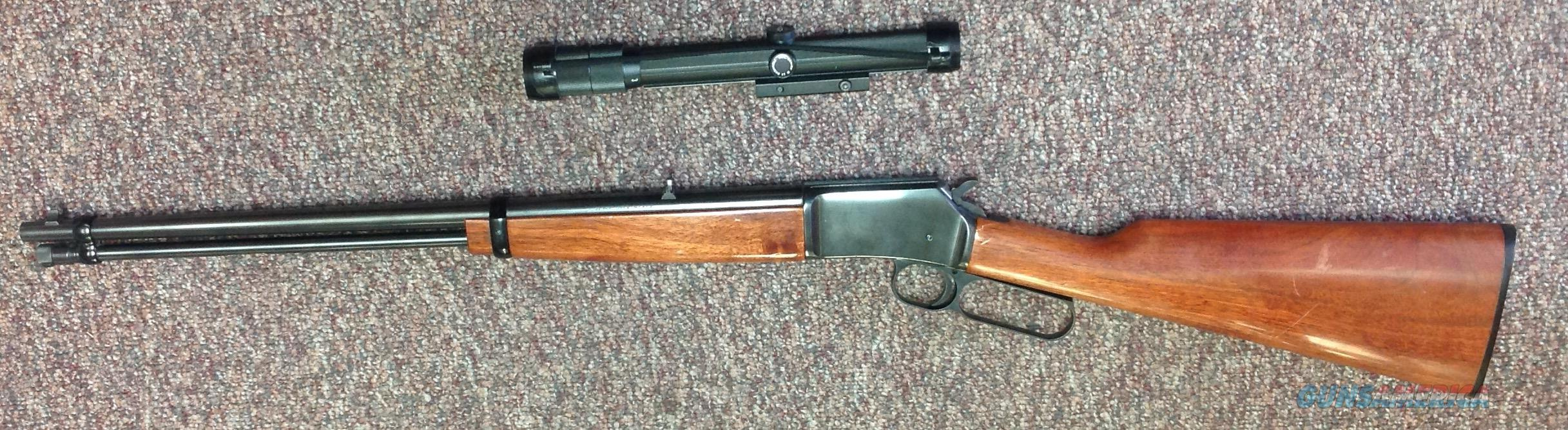 "Browning BLR-22, 20"" BBL with 3-8x BUSHNELL CHIEF SCOPE-NICE! - .22 LR  Guns > Rifles > Browning Rifles > Lever Action"