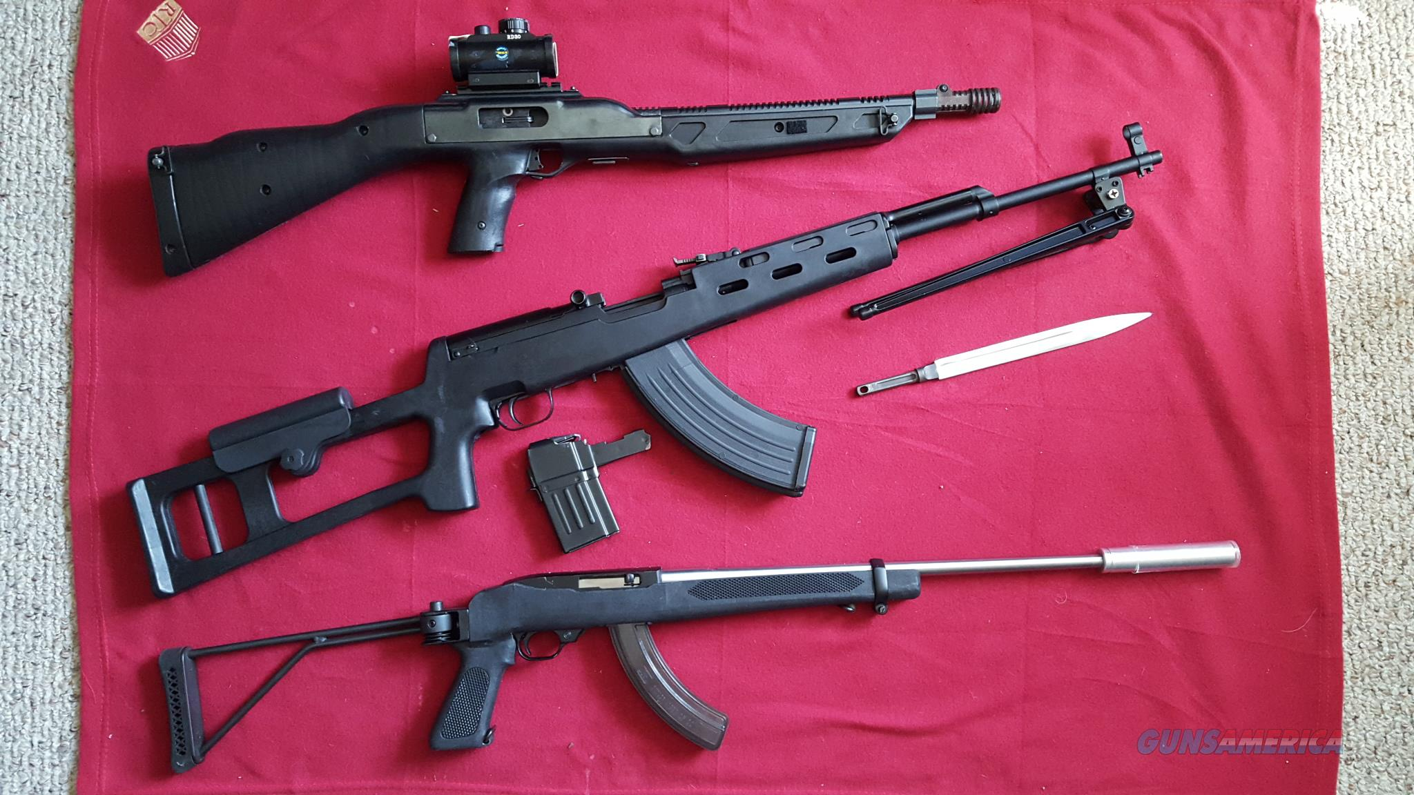 RUSSIAN ORIGINAL SKS - 1950 SPORTERIZED with DRAGUNOV SYNTHETIC STOCK   Guns > Rifles > SKS Rifles