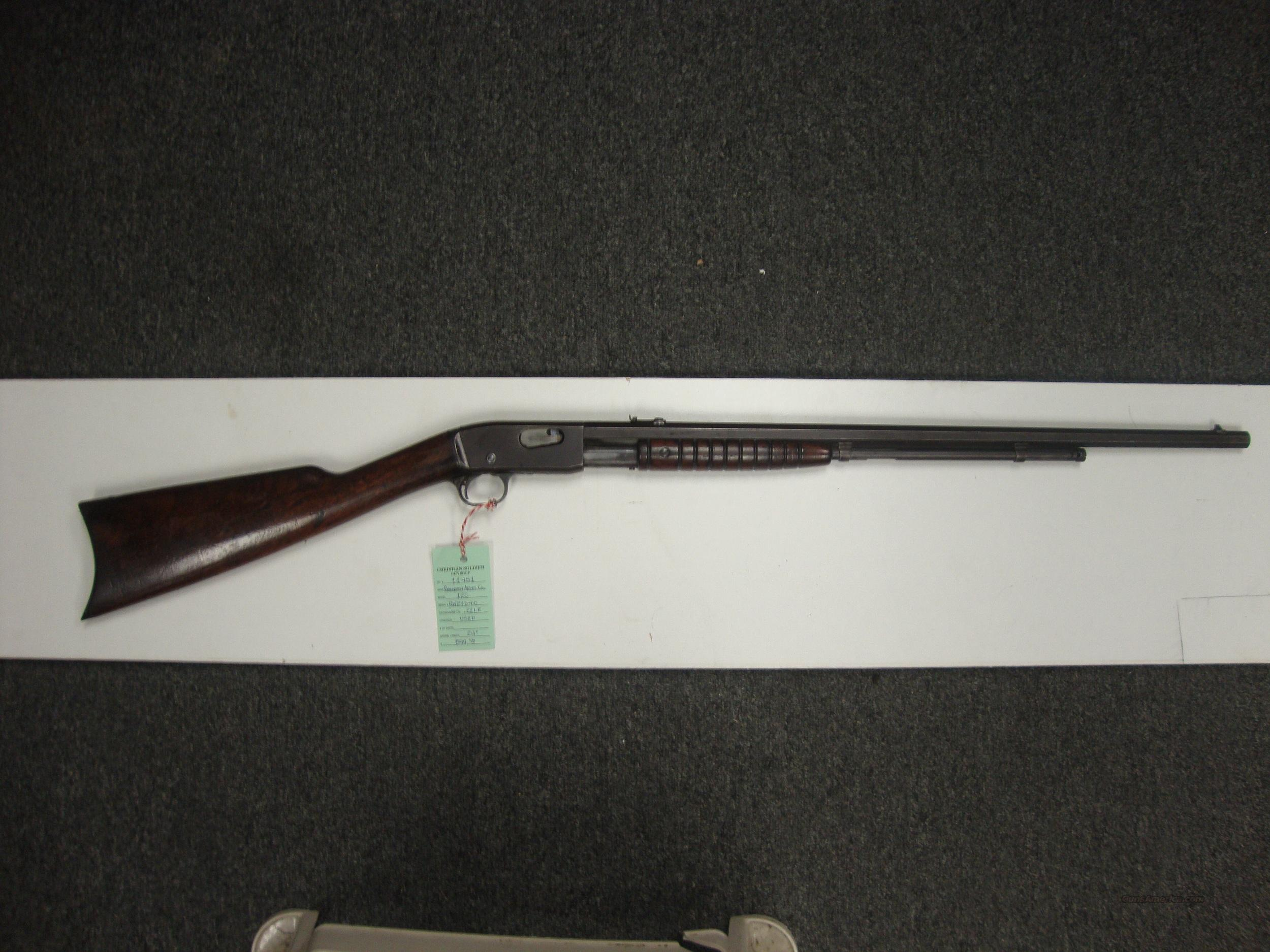 Remington Model 12C .22 Long Rifle  Guns > Rifles > Remington Rifles - Modern > .22 Rimfire Models