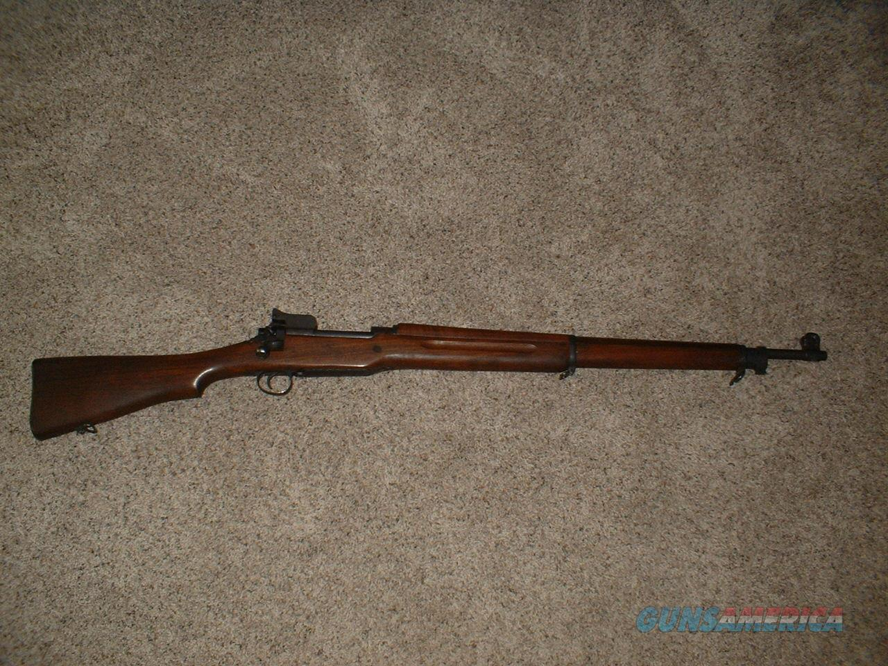 Model 1917 Eddystone WWI manufactured in 1918 - 30-06 rifle  Guns > Rifles > Military Misc. Rifles US > Model 1917 Variants