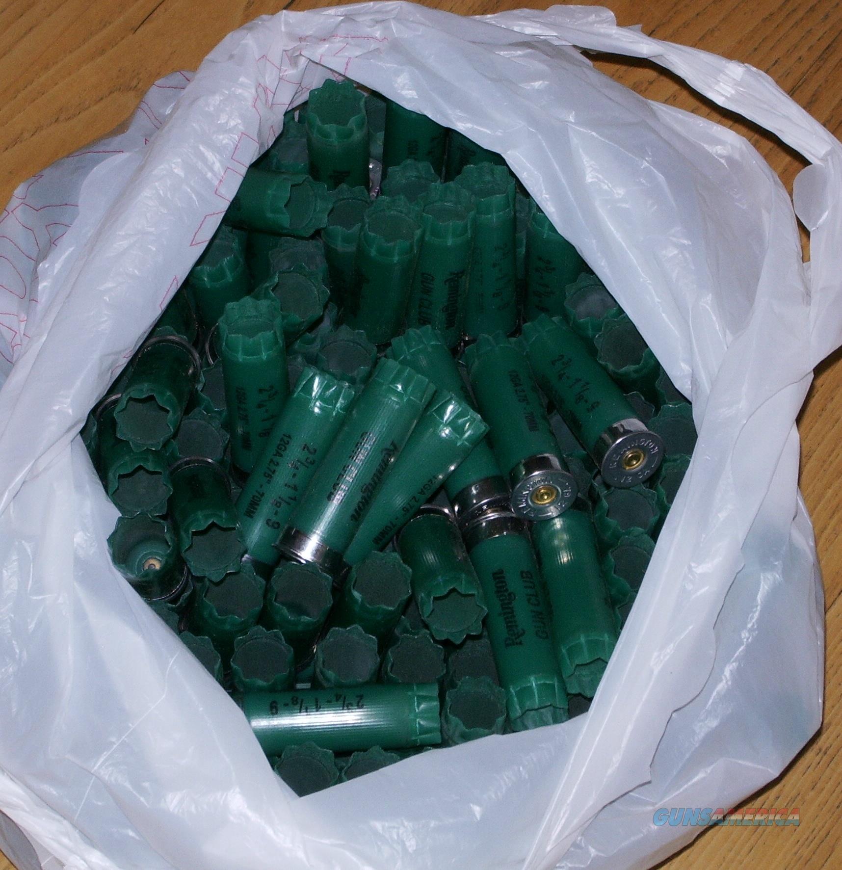 1000 Remington Gun Club 12 ga hulls shells FREE SHIPPING  Non-Guns > Reloading > Components > Shotshell