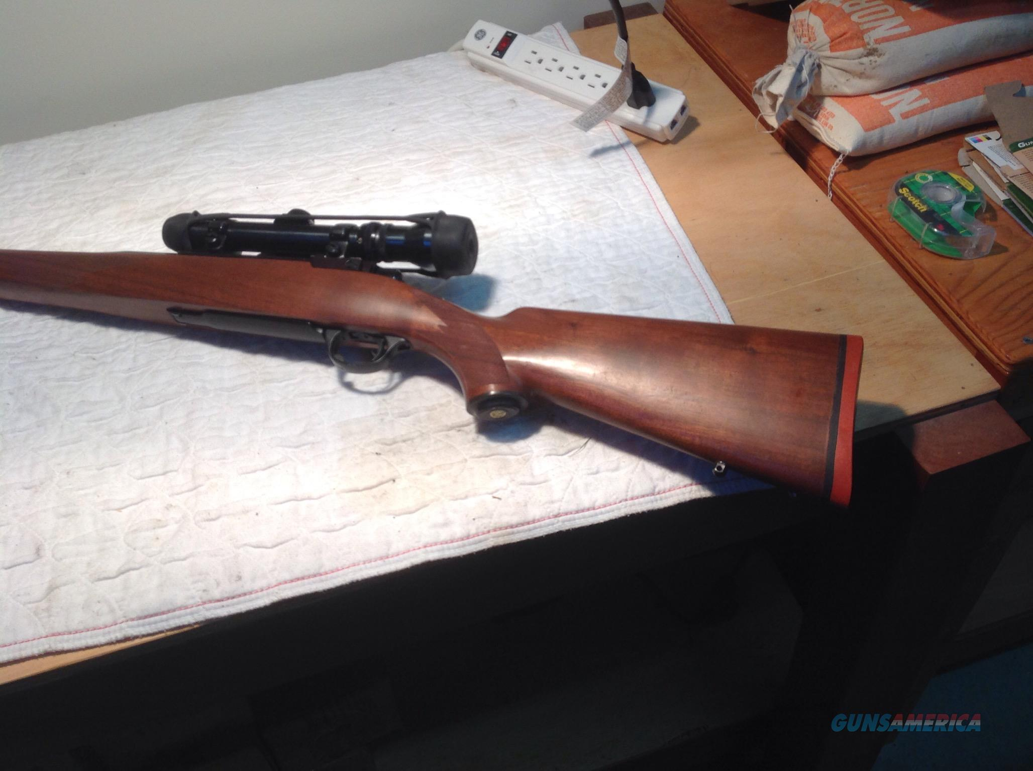 RUGER .338 WINCHESTER MAGNUM WITH SCOPE  Guns > Rifles > Ruger Rifles > Model 77