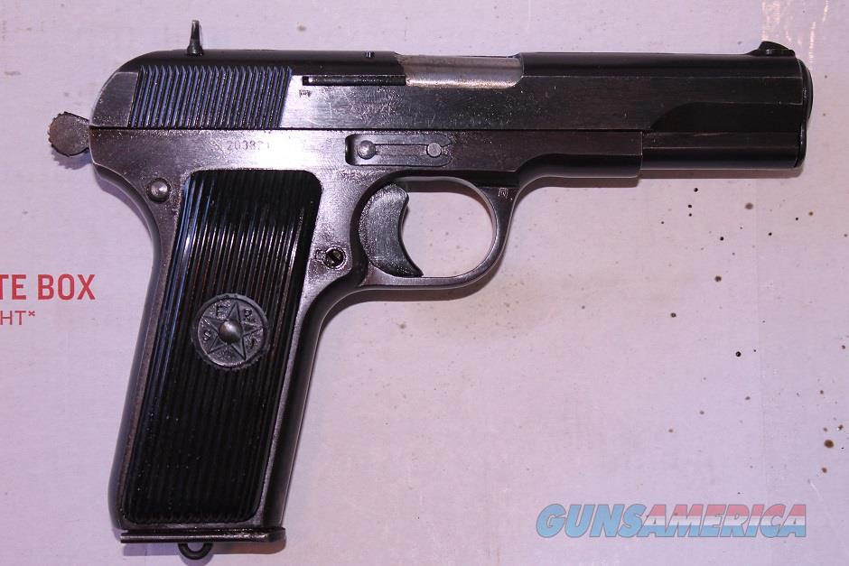 Yugo M57 in 7.62x25 Tokarev  Guns > Pistols > Zastava Arms