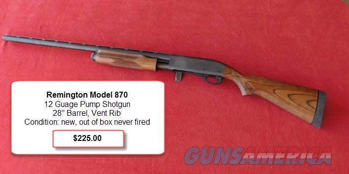 Remington pump action shotgun  Guns > Shotguns > Remington Shotguns  > Pump > Hunting