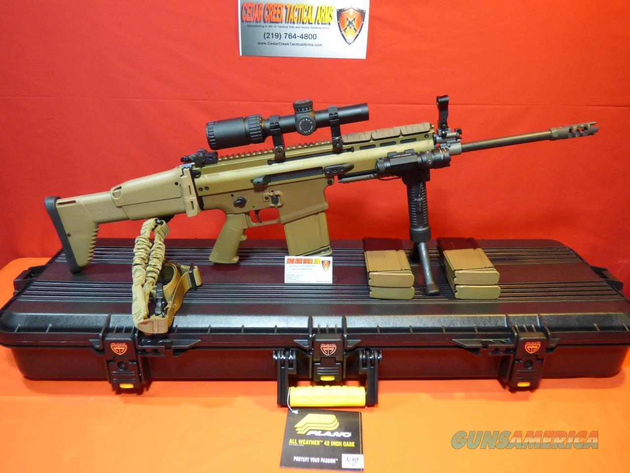 FNH Scar 17s Deluxe Tactical Kit .308  Guns > Rifles > FNH - Fabrique Nationale (FN) Rifles > Semi-auto > SCAR