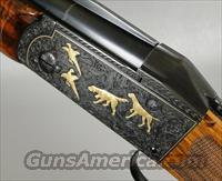 KRIEGHOFF K32 SKEET CROWN GRADE 12 GAUGE Shotgun Hand Engraved and Gold Inlaid by Andrew Reich  Guns > Shotguns > Krieghoff Shotguns