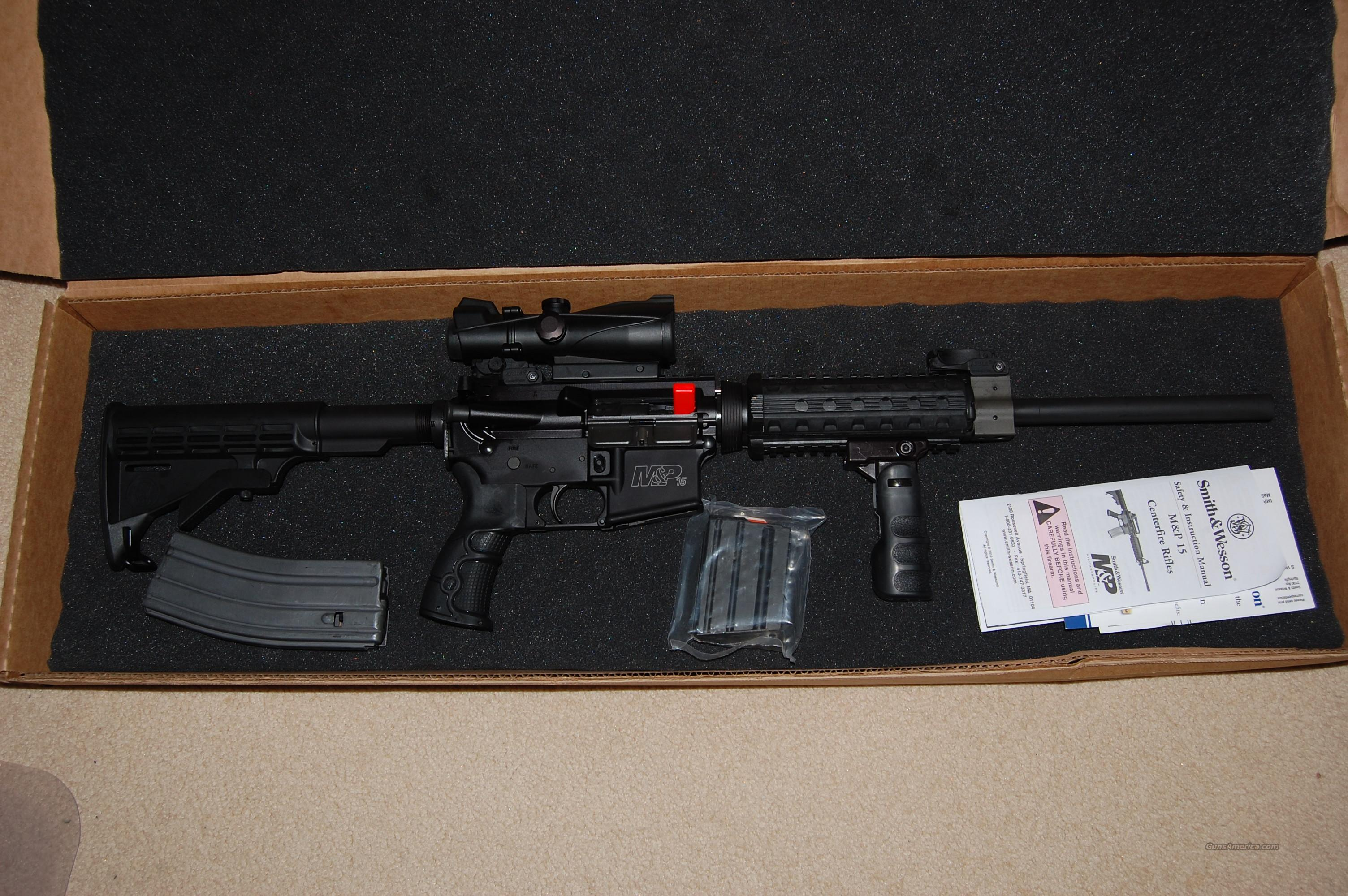 S&W M&P 15 ORC MA and NJ compliant   Guns > Rifles > Smith & Wesson Rifles > M&P