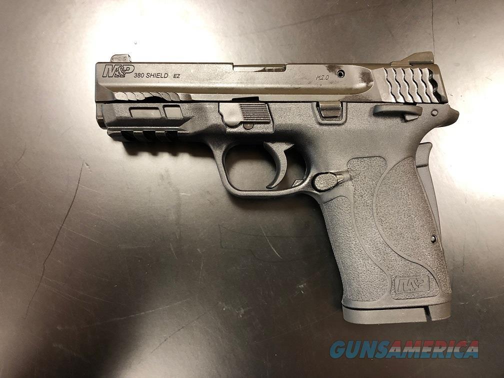 Smith & Wesson M&P Shield EZ .380 Semi-Auto Pistol - Black  Guns > Pistols > Smith & Wesson Pistols - Autos > Polymer Frame