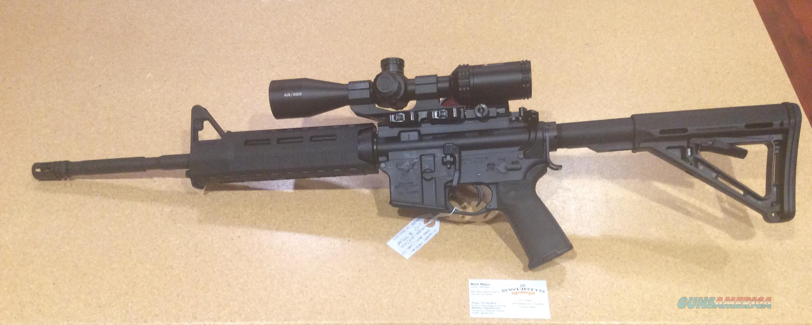 Stag Arms AR-15  - used EXCELLENT CONDITION; Upgraded furniture and optics; PERFECT DUTY RIFLE  Guns > Rifles > Stag Arms > Complete Rifles