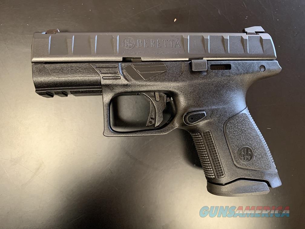 Beretta APX Compact 9mm - Black  Guns > Pistols > Beretta Pistols > Polymer Frame