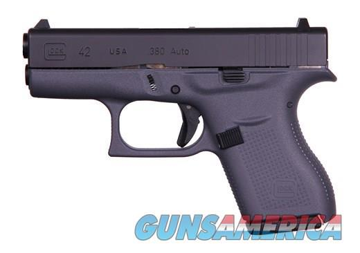 GLOCK G42 380 ACP RARE FACTORY GRAY FRAME 6+1***new in box***  Guns > Pistols > Glock Pistols > 42