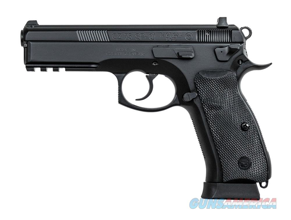 CZ 75 SP-01 TACTICAL 9mm 18 Rd Mag,  Night Sights, Decocker 91153 NEW IN BOX  Guns > Pistols > CZ Pistols