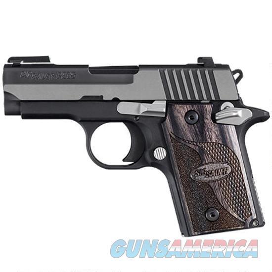 SIG Sauer P938 Equinox Semi Auto Pistol 9mm  Guns > Pistols > Sig - Sauer/Sigarms Pistols > P938