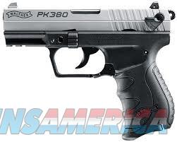 Walther Arms PK380 .380 ACP***new in box***STAINLESS  Guns > Pistols > Walther Pistols > Post WWII > PK380