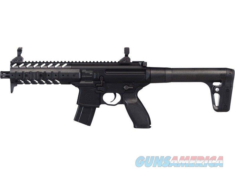 SIG SAUER MPX, BLack , NEW IN BOX CO2 Pellet .177 CAL   Non-Guns > Air Rifles - Pistols > CO2 Rifle