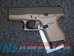GLOCK 43 IN FDE ***NEW IN BOX*** G43  Guns > Pistols > Glock Pistols > 43