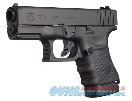 "G30 G4 45ACP 10+1 3.78"" FS 45 ACP***NEW CONDITION***PG3050201  Guns > Pistols > Glock Pistols > 29/30/36"